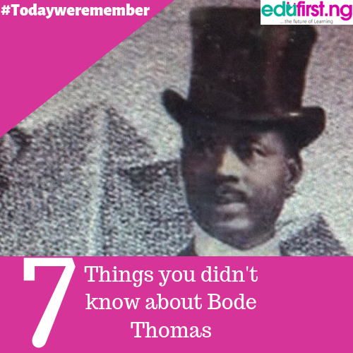 7 things to know about Bode Thomas