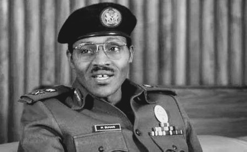 Throwback of President Buhari