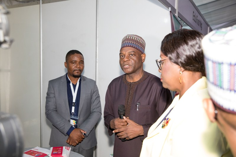 The Permanent Secretary, ministry of Education at the African Edutech Conference 2019