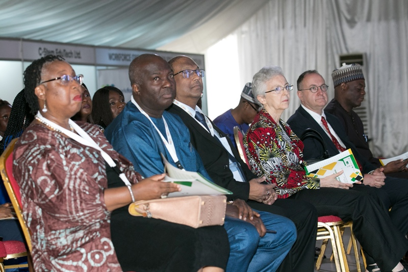 Cross section of speakers at the African Edutech conference 2019