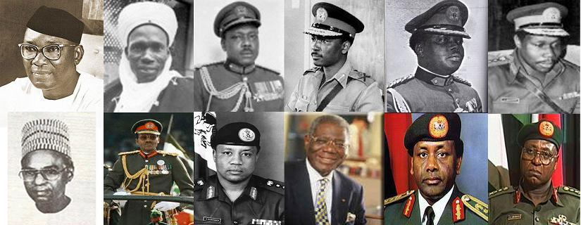 Nigeria's past heads of state