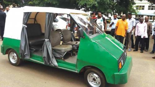 University of Nigeria makes electric car names it Ozumba 551
