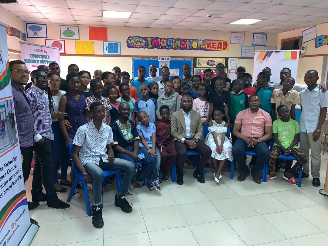 Edufirst.ng kickstarts codefunky 2019 summer camp in Lagos