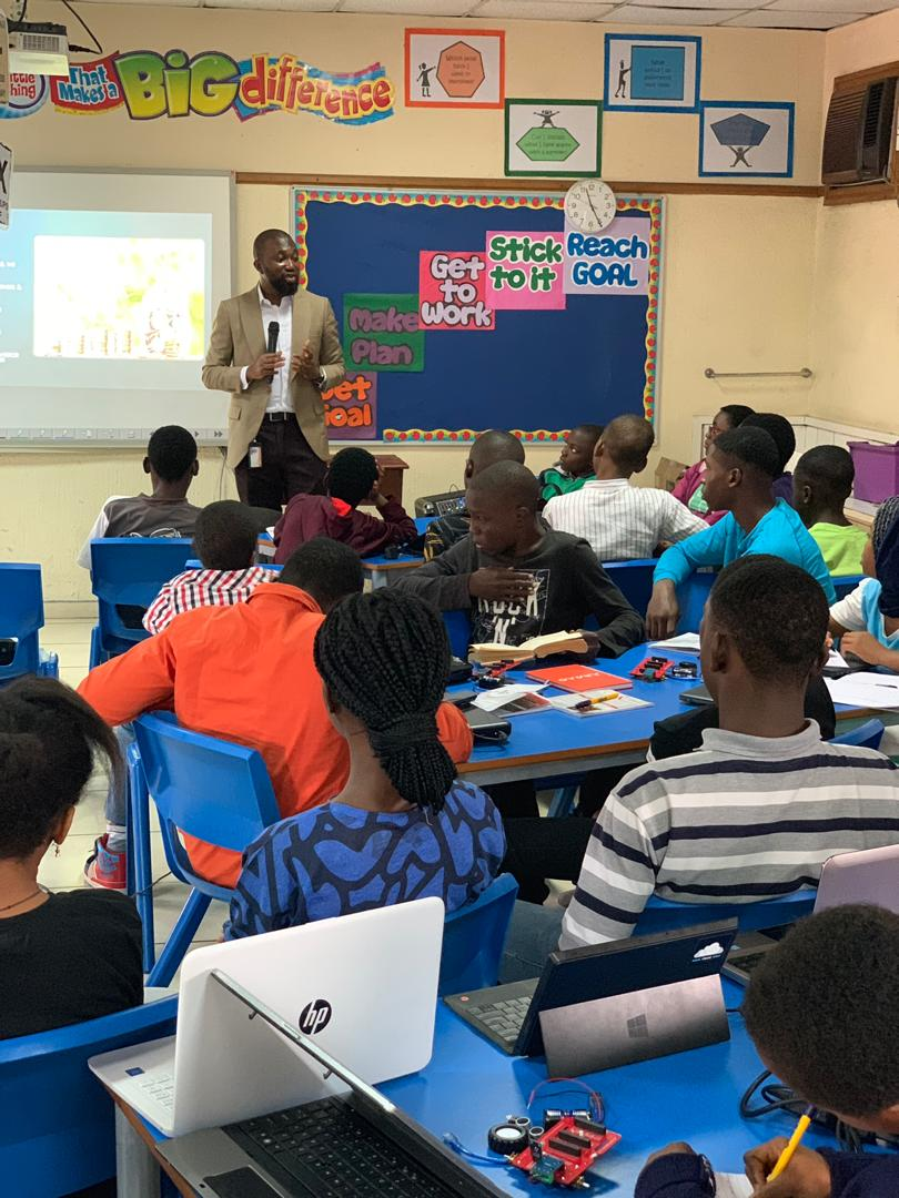 Ernest Eguasa, Jumia CFO at Codefunky 2019